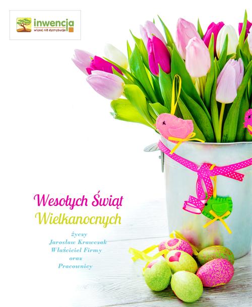 Wesołych Świąt Wielkanocnych życzy Inwencja